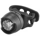 RFR Diamond HQP Sykkellys white LED Svart